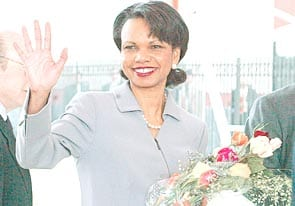 Condoleezza Rice visita Colombia