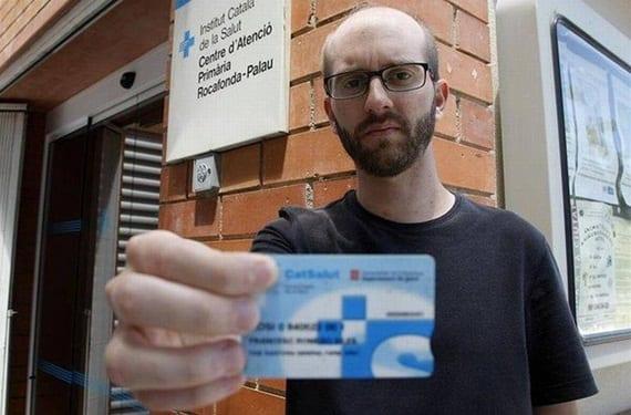 Tarjeta sanitaria española