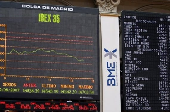Bolsa de Madrid: Ibex 35