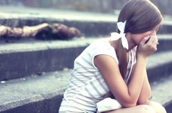 Chica desilusionada