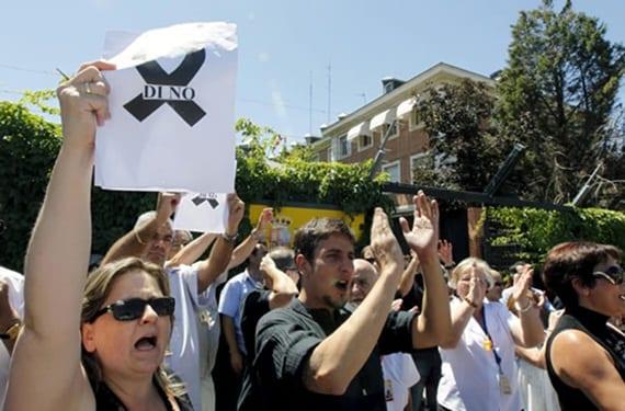 Protestas empleados públicos