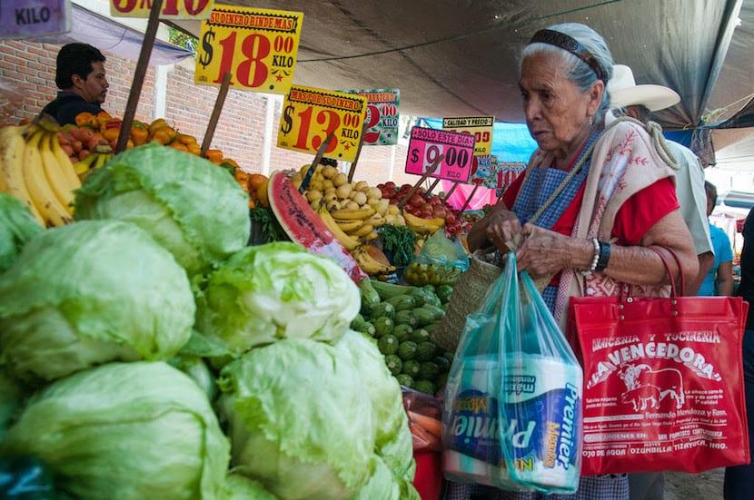Caída de precios en los mercados