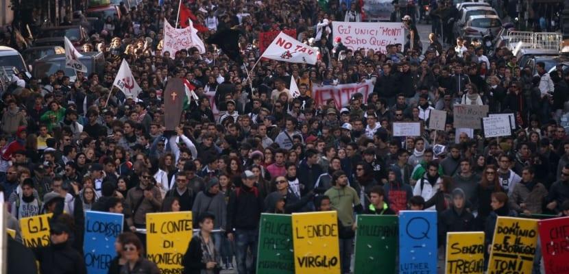 Desempleo en Italia