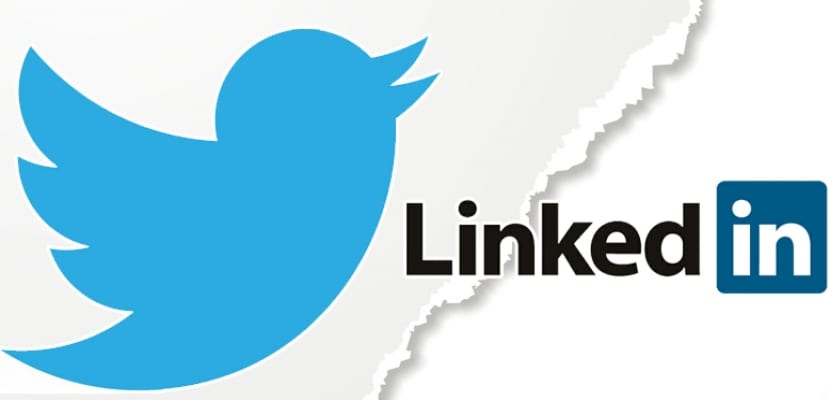 Twitter y Linkedln
