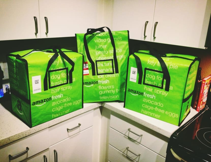 Bolsas de Amazon Fresh