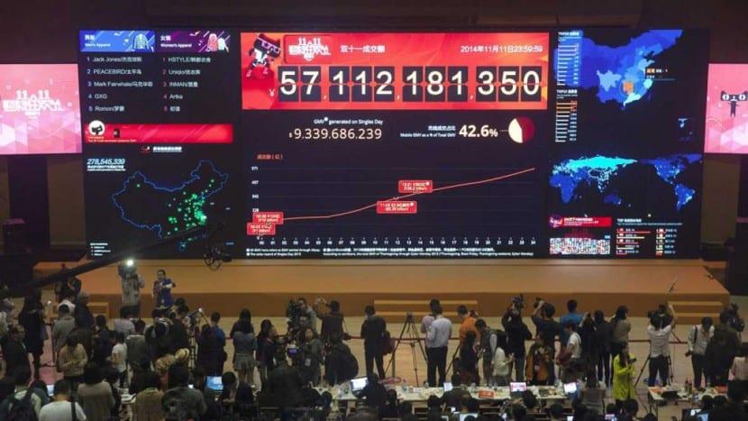 Alibaba en el Día de los Solteros