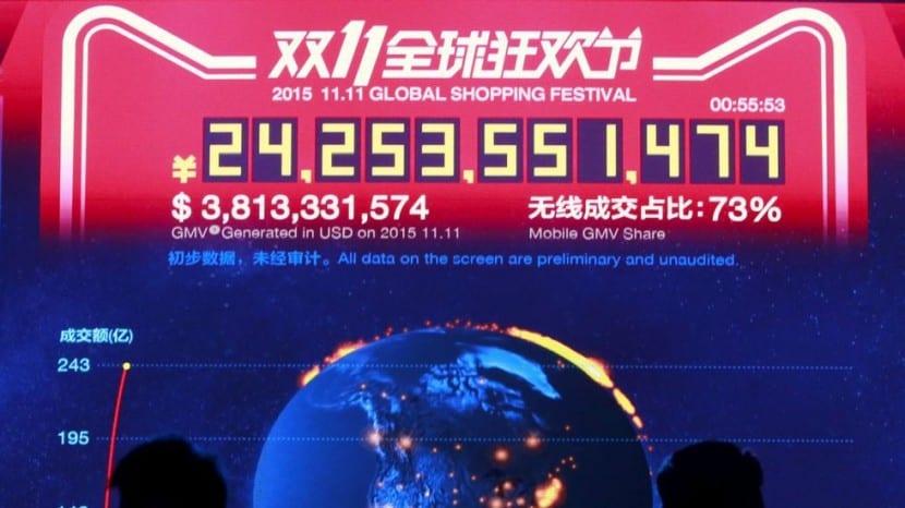 Records ventas Alibaba