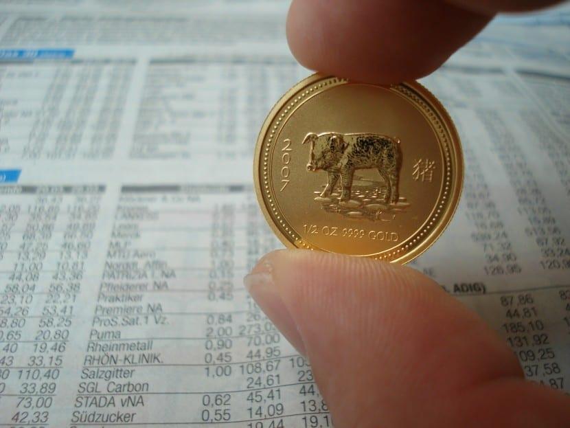 Monedas de oro, para inversiones más modestas
