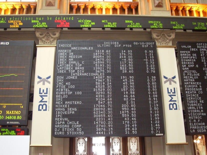 los blue chips: los mejores valores de la bolsa española
