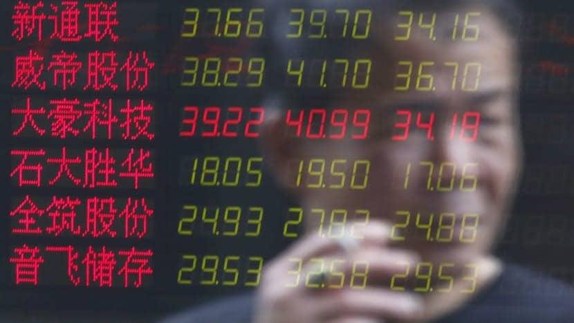 la crisis en china