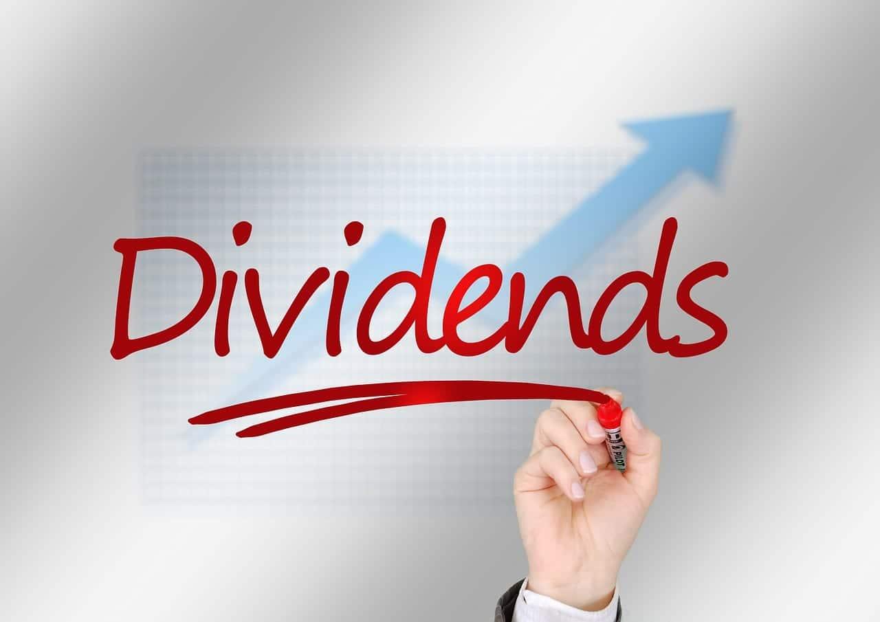 Valores que reparten dividendo entre sus accionistas