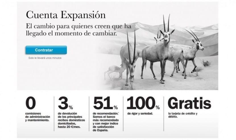 Banco Sabadell cuenta expansión