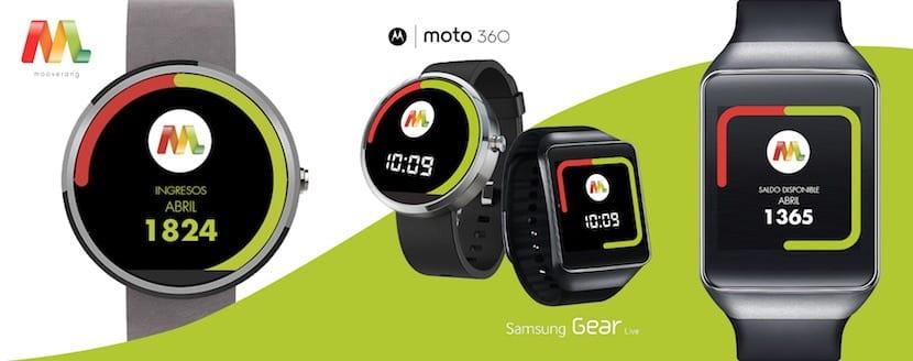 Mooverang para Smartwatch