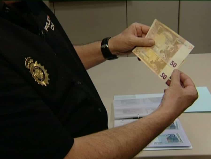 reconocer billetes falos
