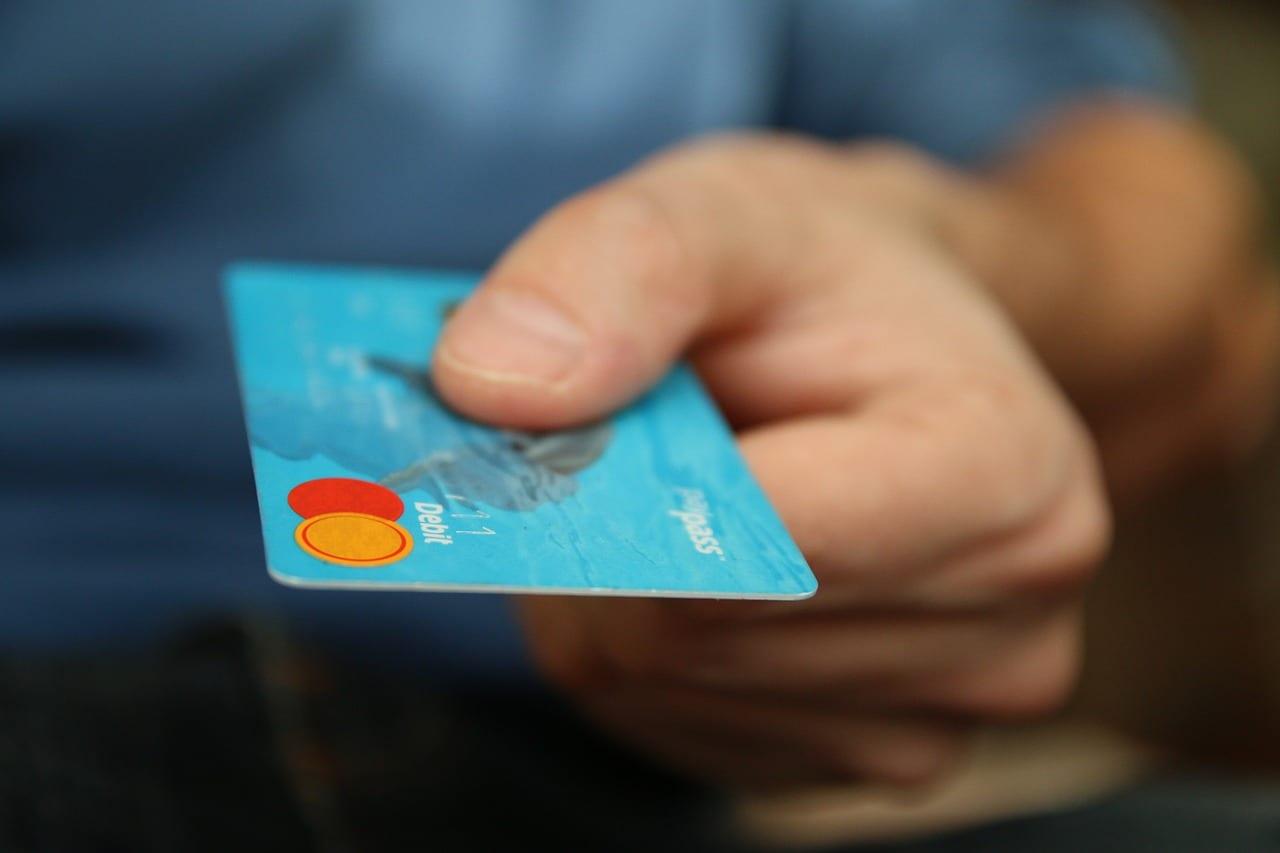 tarjetas para las compras