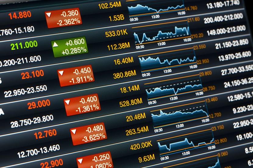 acciones de la bolsa de valores - Ibex