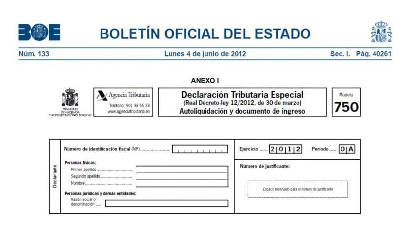 Amnistía fiscal en España