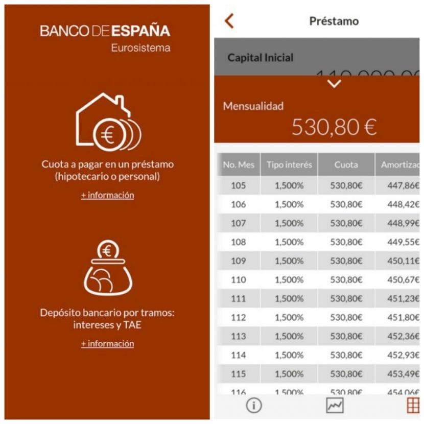 Simulador del Banco de España