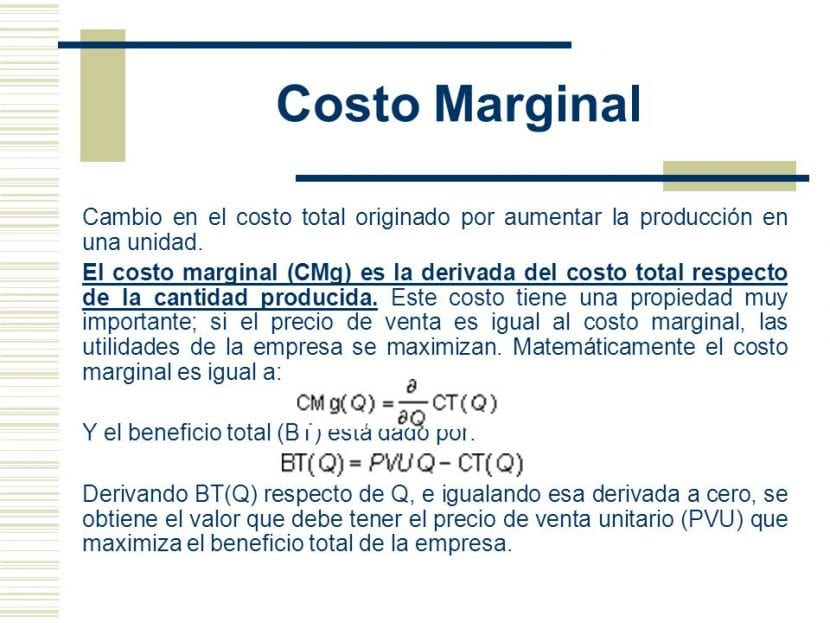coste marginal