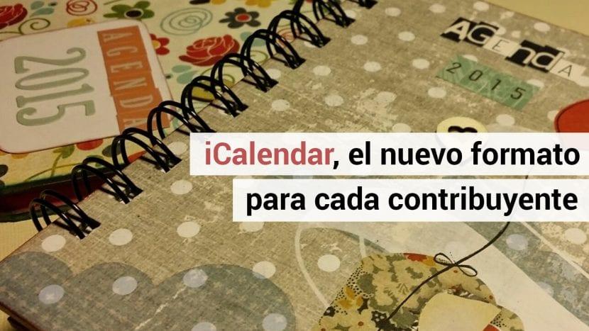 El calendario para el contribuyente.