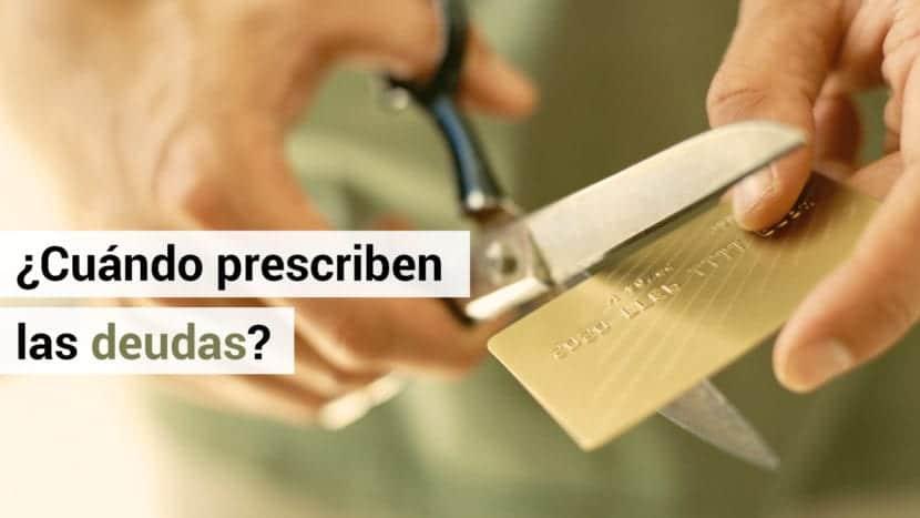 prescripcion deudas españa