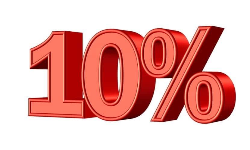Tipos de IVA 10%