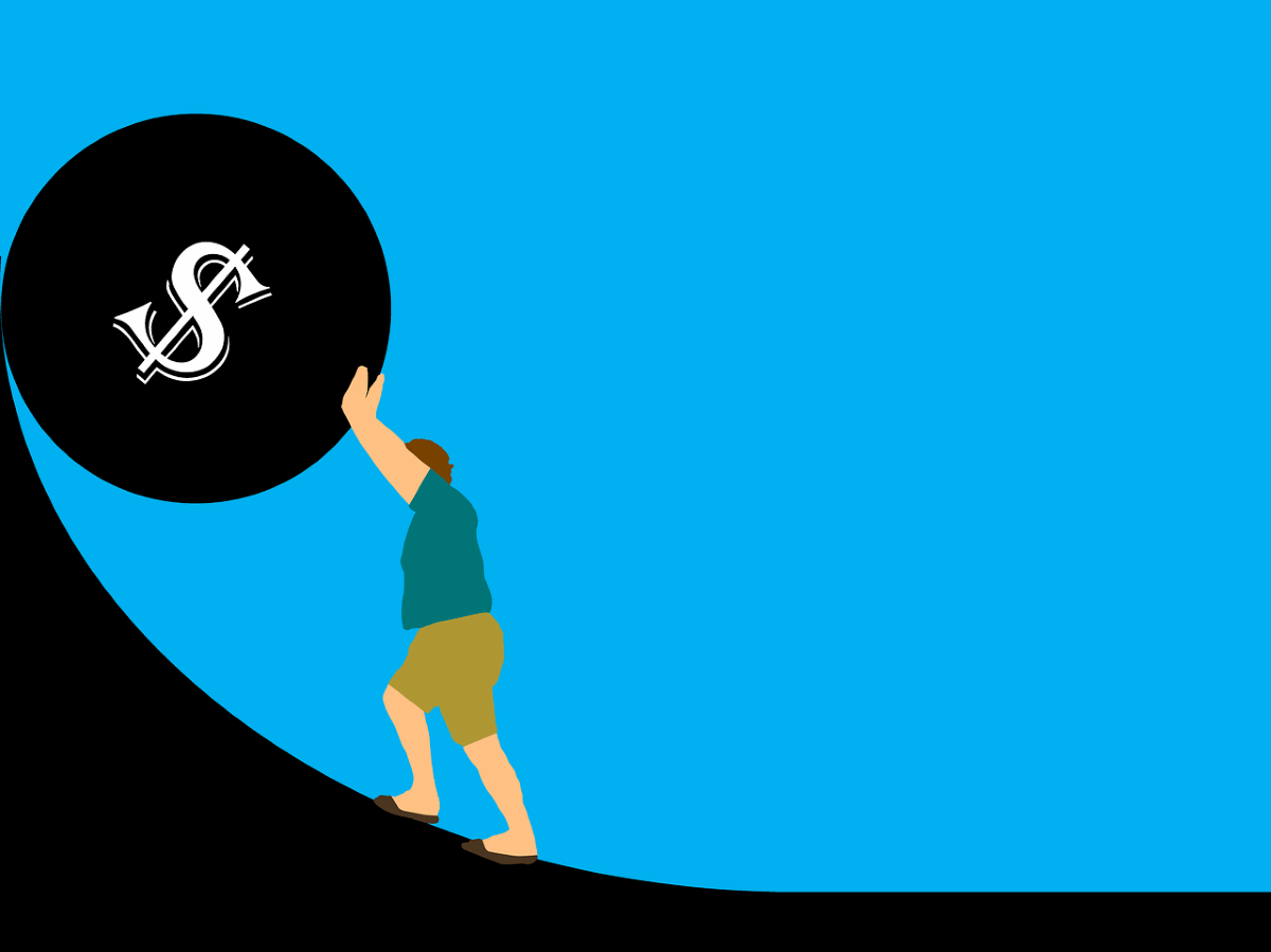 Tener un nivel de endeudamiento alto puede ahogar la economía familiar