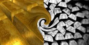 explicación sobre invertir en el ratio oro plata