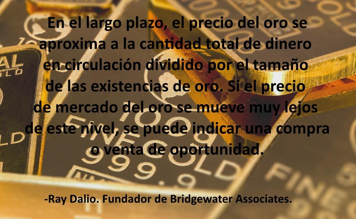 La inversión en oro nos ayuda a protegernos de la inflación y la incertidumbre económica temporal