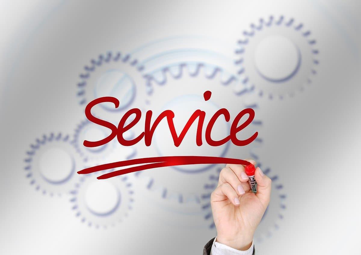 Cuando toda la actividad económica posible es tratada como un servicio se habla de economía de servicios.