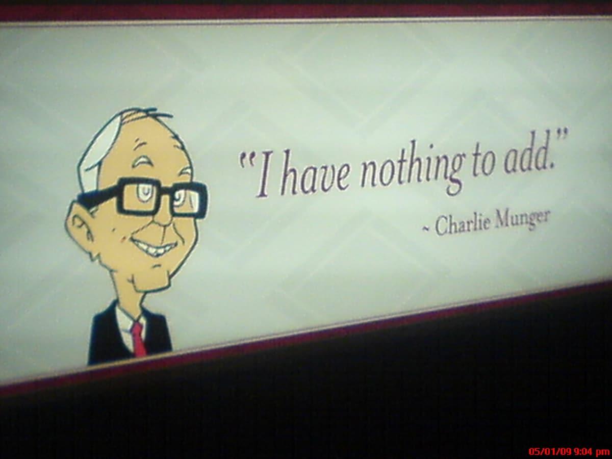 Las frases de Charlie Munger están llenas de sabiduría y experiencia