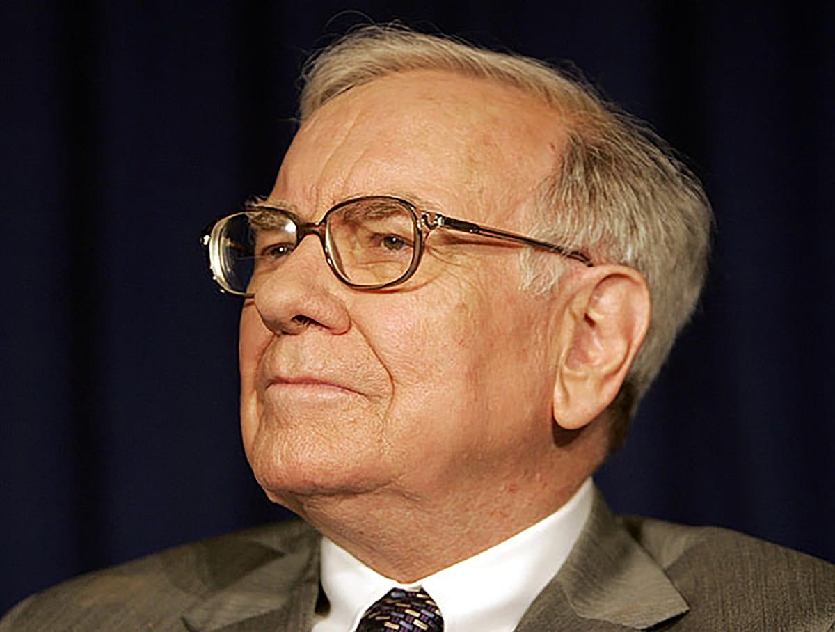 Warren Buffett es el cuarto hombre más rico del mundo