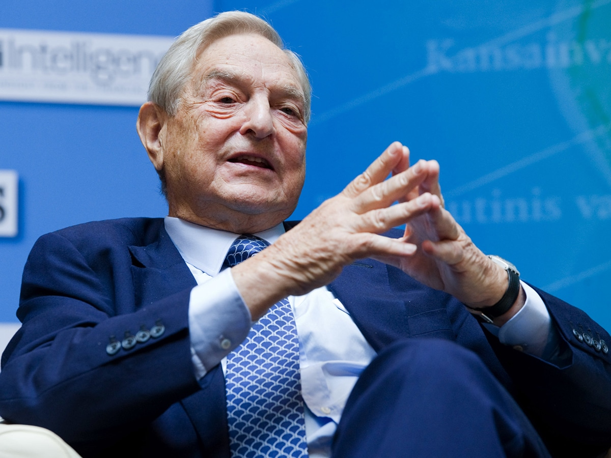 George Soros es el fundador y presidente de Soros Fund Management LLC