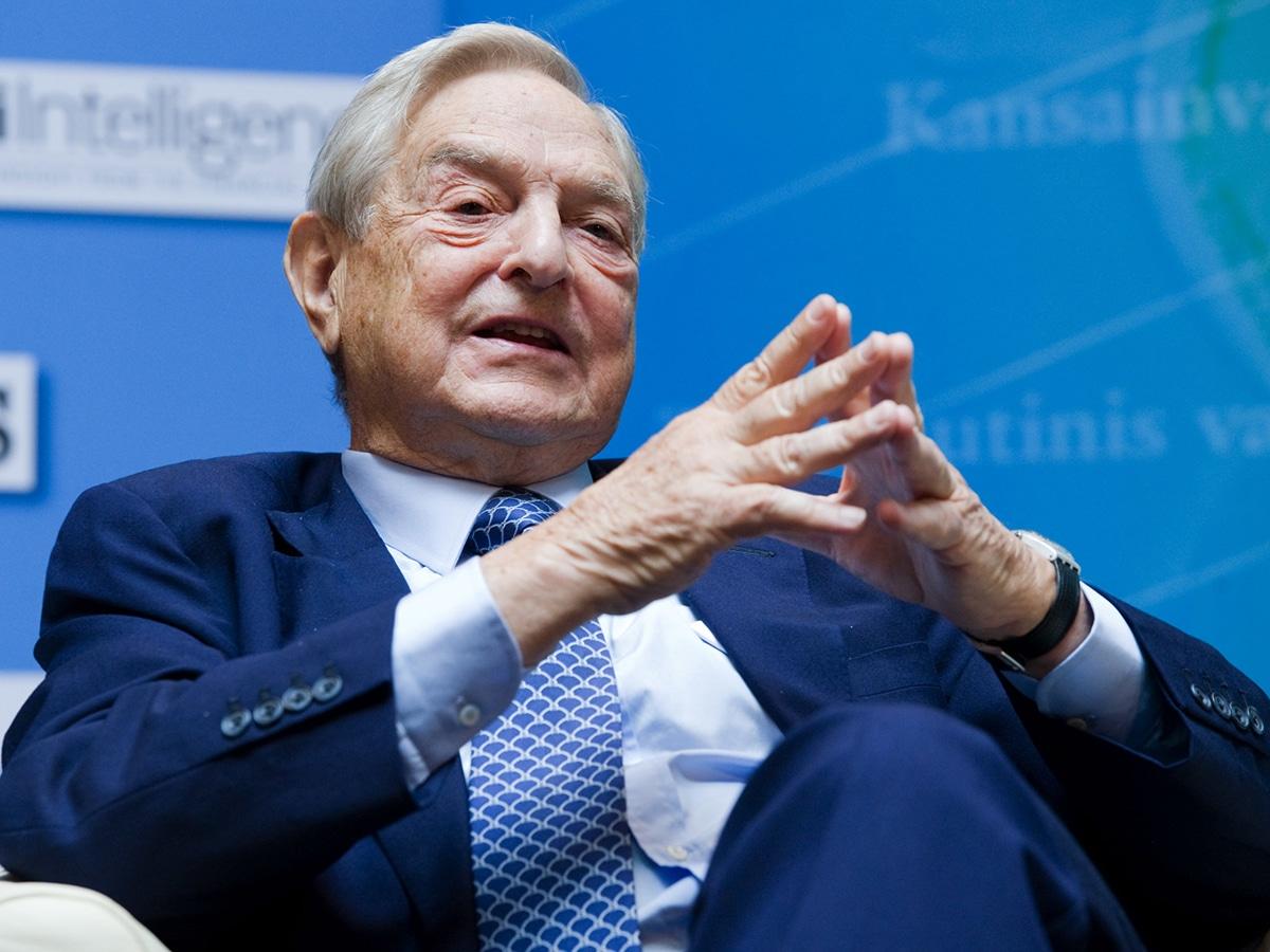 George Soros es el fundador y presidente de Soros Fund Management LLC