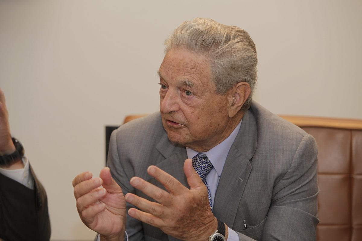 George Soros es una de las cien personas más ricas del mundo
