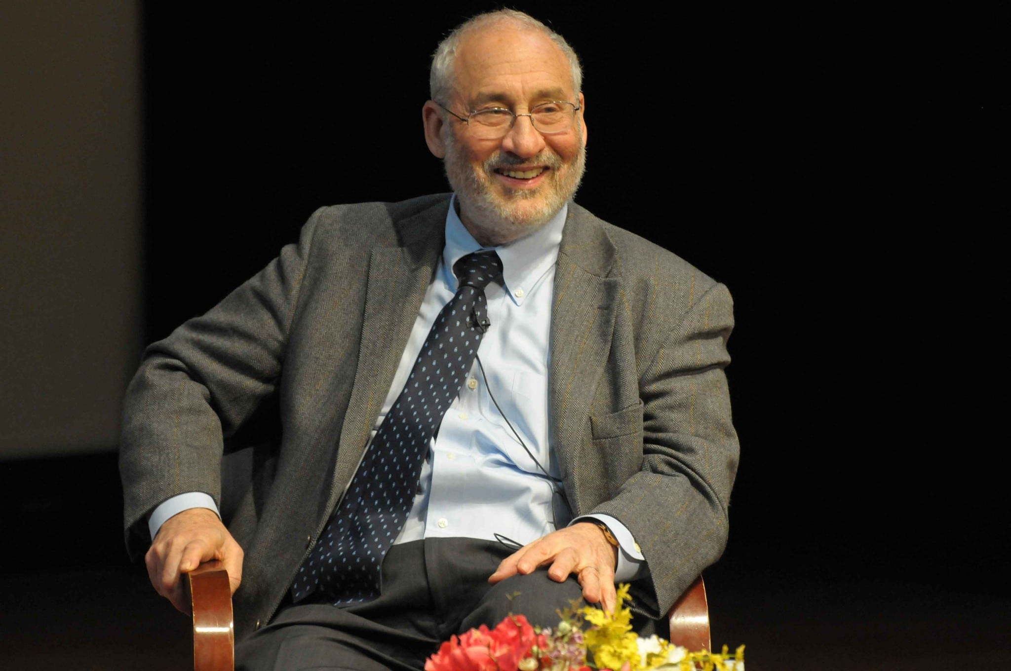 Joseph Stiglitz ganó el Premio Nobel de Economía en el año 2001