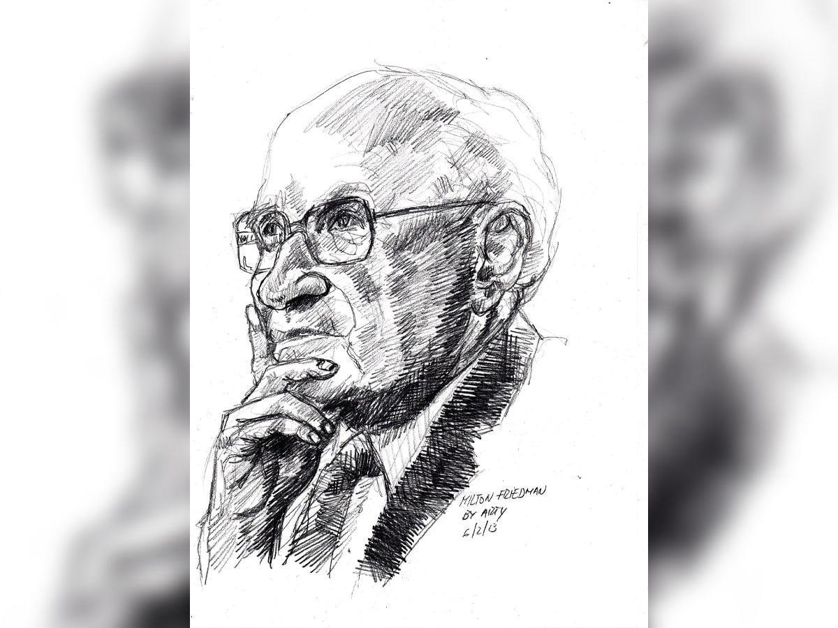 Milton Friedman fue considerado el economista más influyente de la segunda mitad del siglo XX