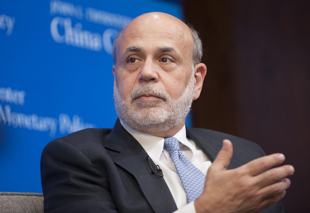 Ben Bernanke muestra especial interés por la Gran Depresión