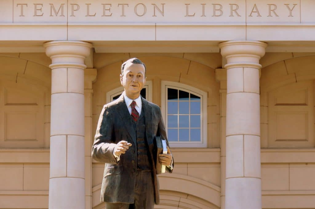 John Templeton creó la fundación John Templeton
